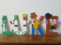 Toy Story Letter Art by TheLetterBug on Etsy