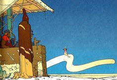 Moebius #2 from 2001 AD Stardom Edition, Paris 2000