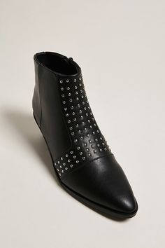 St. Sana Studded Ankle Boots   Forever21