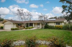 Open House 3/7, 1-4 3963 Los Santos Dr, Cameron Park CA Immaculately maintained & updated home w/spacious floor plan offers a family room w/fireplace & formal dining. Island kitchen w/pantry & nook opens to great room w/view windows. Updated w/new carpet & tile, fresh paint, roof in 2011, owned solar in 2012, tank-less HW heater, refinished bath fixtures & more. Downstairs guest apt w/kitchen, living, bed, bath & own entrance. Large lot w/oaks, RV/boat parking & wkshp w/workbench. (866)…