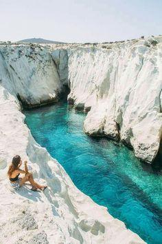 Island Milos, Greece