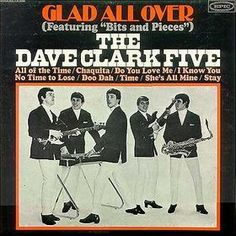 """The Dave Clark Five (also known as """"The DC5"""") were an English pop rock group. Their single """"Glad All Over"""" knocked the Beatles' """"I Want to Hold Your Hand"""" off the top of the UK singles charts in January 1964: it peaked at number 6 in the United States in April 1964.[1]  They were the second group of the British Invasion on The Ed Sullivan Show, appearing in March for two weeks after the Beatles appeared three straight weeks in February 1964."""