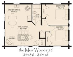 Small Log House Floor Plans | Cabin Home Plans at family home plans