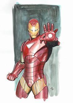 Iron Man - Extremis by Adi Granov