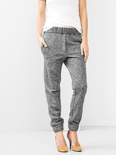 If she still has velour sweats tucked away in her dresser, give her a major upgrade with these Gap Marled sweats ($50). Instead of the sweatpants of yesteryear with something funny splashed across the butt, this pair will prove to her that lounge pants can actually be cool.