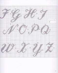 Gallery.ru / Фото #67 - Alphabets au point de croix - CrossStich
