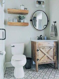 Modern Farmhouse, Rustic Modern, Classic, light and airy bathroom design a few ideas. Bathroom makeover ideas and master bathroom renovation a few ideas. Rustic Bathroom Vanities, Bathroom Ideas, Bathroom Organization, Bathroom Mirrors, Remodel Bathroom, Bathroom Cabinets, Bathroom Storage, Bathroom Inspiration, Bathroom Trends