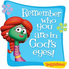 #Veggietales. My children love all of the veggietales cartoons. I try to give them something to watch that has morals and lessons behind each story.
