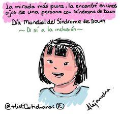 La mirada más pura... #díamundialdelsíndromededown  #sindromededown by histcotidianas