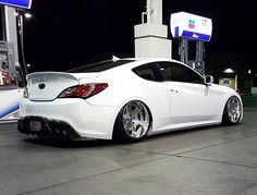 Genesis Hyundai Genesis Coupe, Car Goals, Hyundai Sonata, Modified Cars, Car Brands, Future Car, Slammed, Sport Cars, Custom Cars