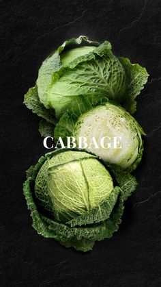 Cabbage Cabbage is a leafy green or purple plant, grown as an annual vegetable crop for its dense-leaved heads. It is closely related to other cole crops, such as broccoli, cauliflower, and brussels sprouts. Cabbage is prepared and consumed in. Fruit And Veg, Fruits And Vegetables, Veggies, Food Wallpapers, Food Design, Web Design, Modern Design, Mode Poster, Vegetables Photography