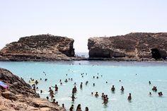 #blue #lagoon #Malta #clear #water #sea #wow #beautiful