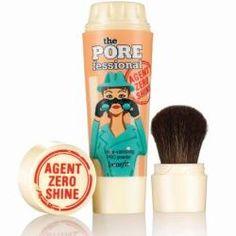 Fashion Monitor: News - Benefit Cosmetics presents POREfessional: agent zero shine