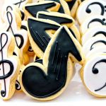 Music Cookies - Music Notes, Treble Clef, & Bass Clef Collection