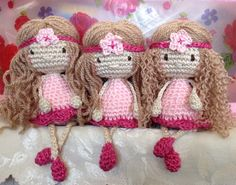 Crocheted dollies