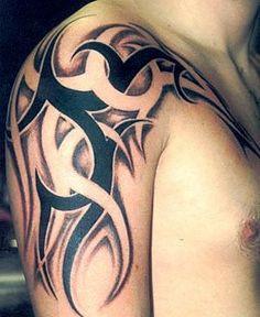 Tribal Tattoo Shoulder - Tattoo Shortlist
