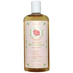 Madre Labs, Гамамелиса тонер, лепестки роз, без алкоголя, 12 жидких унций (355…