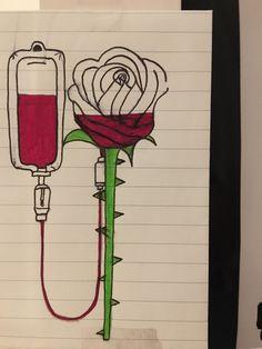 Day halloween drawings Drawing Flowers & Mandala in Ink - Drawing On Demand Sad Drawings, Cool Art Drawings, Pencil Art Drawings, Art Drawings Sketches, Disney Drawings, Drawing Ideas, Drawing Drawing, Cool Drawings Tumblr, Drawing Disney