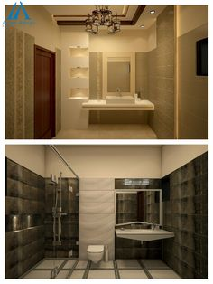 the best interior design and construction company in Pakistan offering quality services locally and globally. Best Interior Design, Bathroom Interior Design, Bathroom Designs, Islamabad Pakistan, 3d Design, Modern Bathroom, Bathtub, Architecture, Standing Bath