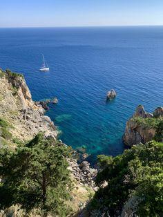 Beautiful Sunrise, Beautiful Beaches, Places Around The World, Around The Worlds, Corfu Town, Western Coast, Travel Around Europe, Europe Destinations, Greece Travel