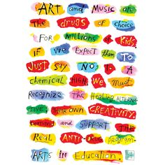 """Fred Babb """"Arts in Education"""" 11x14  Art Print.  On Etsy"""