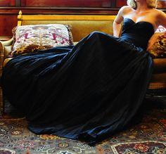 Gothic Black Wedding Dresses. Yes!!