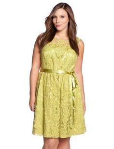 eloquii Lace Dress Womens Plus Size