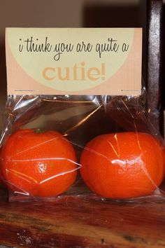 Cute way to pack cuties :)
