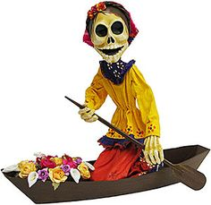 These wonderful and super unique Day of the Dead figures come from the Befina art studio in Leon, Mexico.  In business since 1986, Befina produces artisanal paper mache figures that capture the best in Mexican folklore.  Our collection of Befina figures are almost life-like (not bad for being dead!), with fine details in both color and design.