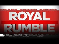 WWE Royal Rumble 2021 Dream Match Card - YouTube Wwe Royal Rumble, Youtube, Cards, Lucha Libre, Pictures, Maps, Playing Cards, Youtubers, Youtube Movies