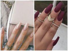 unghie, nail art, idee, inspirations, essie, estroa, nail, nails, nail polish, kiko, glitter, pink, squovali