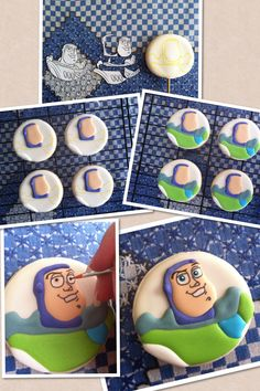 Buzz cookies process