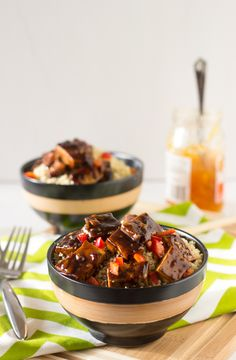 Asian Orange Glazed Tofu is tasty, flavourful and shows you how amazing tofu can be!