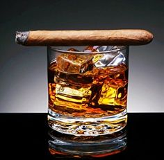 Few things go together better than a  nice, small batch Bourbon and a fine cigar.