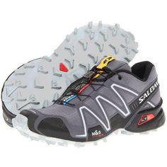 Salomon Speedcross 3 (Dark Cloud/Black/Light Onix) Men's Running Shoes