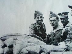 Franco, comandante al frente de la Legión de extranjeros en África