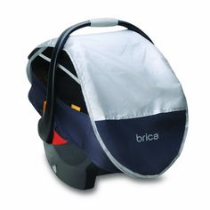 Brica Infant Comfort Canopy Car Seat Cover Deals