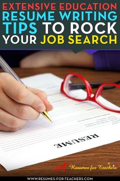 Education resume writing tips. A vast variety of information for new or veteran educators including school teachers, administrators, consultants, corporate trainers. Perfect for making a career change into teaching, principalship, college adjunct instruct