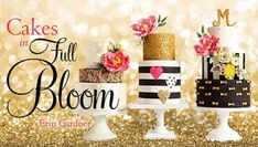 Capture the allure of floral arrangements in bold cakes for any celebration. Create updated sugar flowers, foliage and three show-stopping cakes as you build fresh floral design skills.