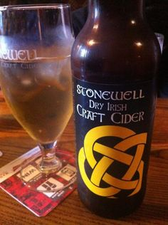 Roches Bar, Duncannon village, Co. Wexford. Stonewell cider Dry