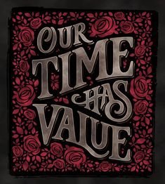 """""""Our time has value"""" by Abed Azarya"""