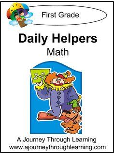 Daily Helpers Lapbook- Math Grade 1