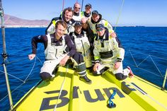 Brunel team   Volvo Ocean Race   Dutch expert Bouwe Bekking is a six-race veteran, but has yet to win. He is back with a crew of young guys - and this time, he means business.