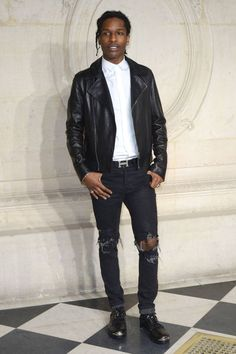 All of the best-dressed attendees spotted front row at Paris Couture Week. A$AP Rocky at Christian Dior.