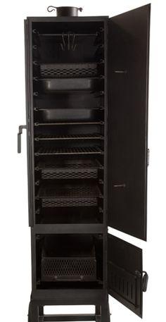 Vertical Restaurant Smoker Wood/Charcoal/Gas