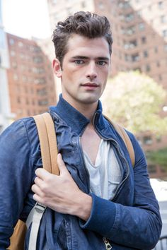 Georgia-born Sean O'Pry is the world's current top-earning male model, and he used to think Fendi was food.