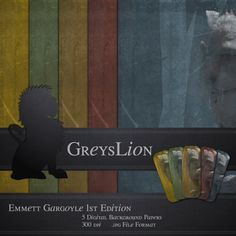 Emmett Gargoyle Statue Imagery Altered Ephemera by greyslion, $0.99 Best Artist, Ephemera, Statue, Handmade Gifts, Painting, Etsy, Vintage, Kid Craft Gifts, Handcrafted Gifts