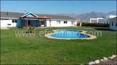 Chile Rinconada de los Andes neues Haus, Pool, Ausblick