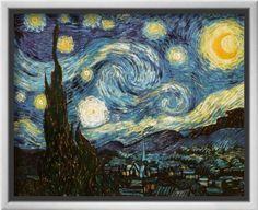 Starry Night, c.1889 Giclee Print by Vincent van Gogh at Art.com