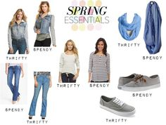 You can't go wrong with these Spring essentials! Great for those fluctuating spring temperatures!  www.audreysalutes.com